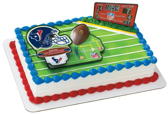 Houston Texans Cake Topper