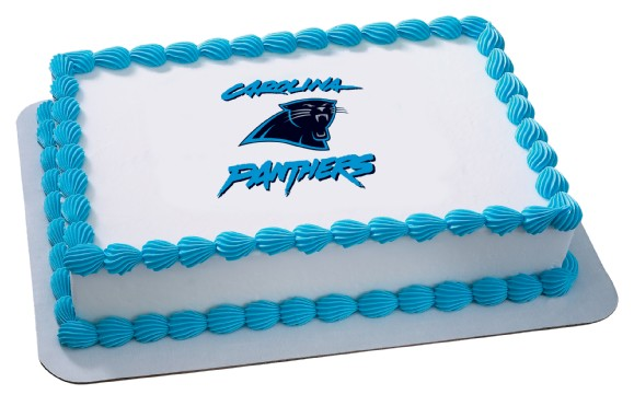 Carolina Panthers Nfl Birthday Cupcake Rings