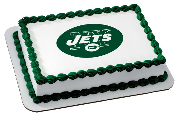 New York Jets Nfl Birthday Cupcake Rings Favors